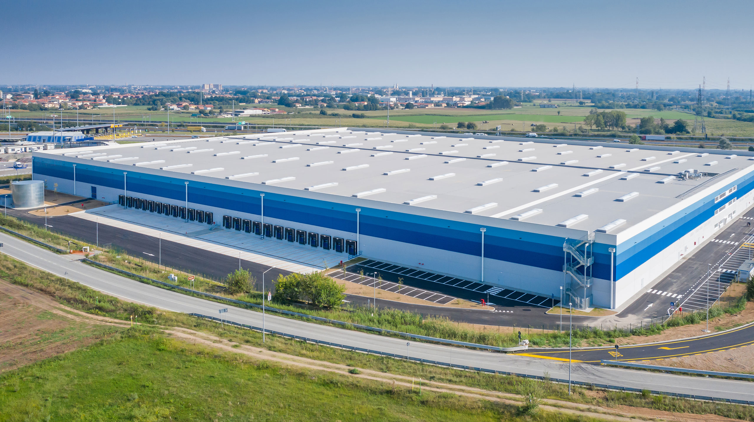 GSE ITALIA DELIVERS A NEW 48,000 M2 LOGISTICS PLATFORM NEAR MILAN FOR CARLYLE REAL ESTATE