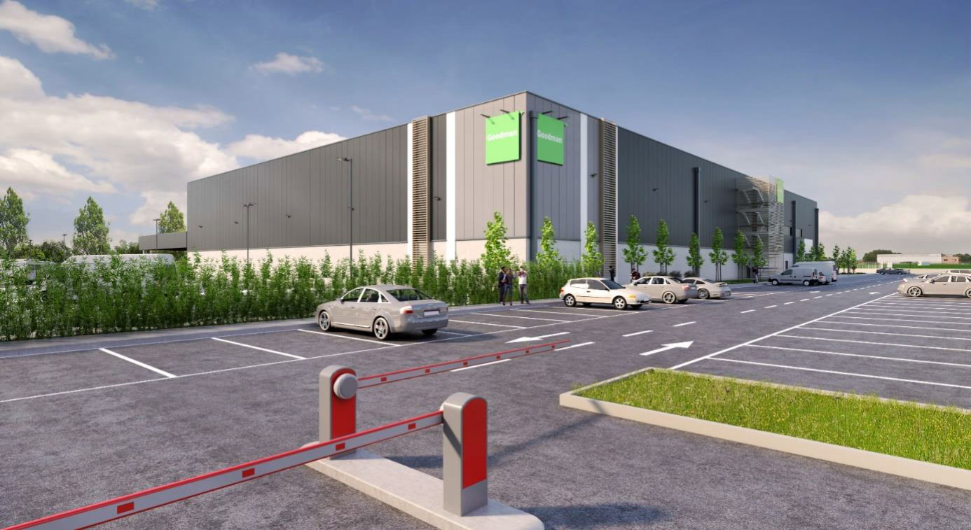 GSE ITALIA AND GOODMAN TOGETHER FOR THE CONSTRUCTION OF A NEW LAST-MILE WAREHOUSE IN PIOLTELLO