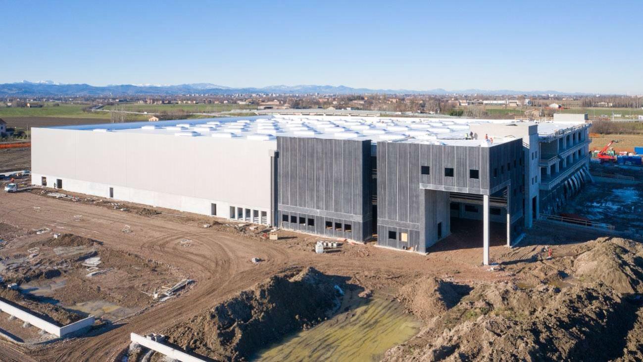 KRAMP AND GSE ITALIA BUILD A NEW DISTRIBUTION CENTRE IN REGGIO EMILIA